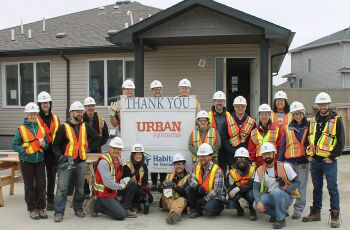Our Habitat for Humanity Builds in Edmonton and Saskatoon